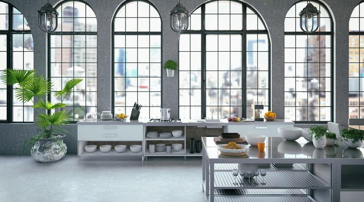 Trenic Commercial & Residential Builders Hybrid Kitchen Snapshot